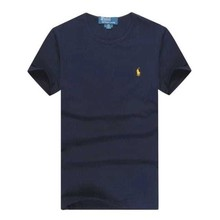 New arrival 2015 men's t shirts brand solid o-neck short sleeve po43lo shirt cotton top for men plus size M-XXXL