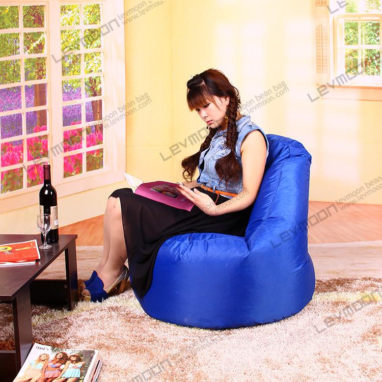 FREE SHIPPING outdoorbean bag chair pattern garden bean bag cover 100CM diameter bean bag sofa OXFORD WATER-PROOF beach chair(China (Mainland))