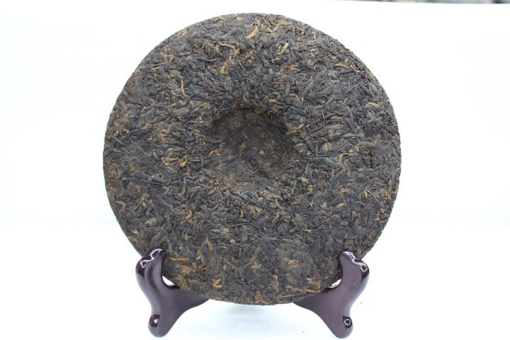 Yunhe Made In 2009 In Yunnan Menghai 5-10yrs Tea Blue Qizi Tea Cake 357g Fermented Tea Green Food Health Care Drinking cheap