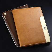 For iPad Air iPad 5 Smart Cover Luxury Leather Case With Stand Automatic Wake-up Sleep Function(China (Mainland))