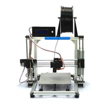High Accuracy DIY 3D Printer Kit for Reprap Prusa i3,MK3 heatbed,LCD Screen ,MK8 extruder,Official prototype,Free shipping
