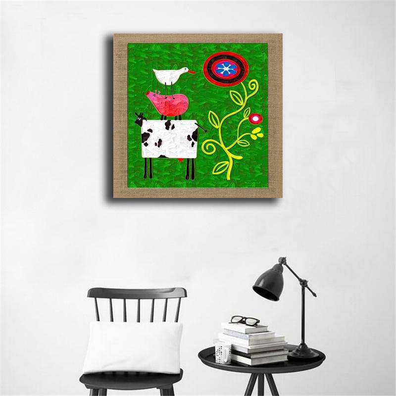 Leuke varken foto koop goedkope leuke varken foto loten van chinese leuke varken foto for Schilderen moderne volwassen kamer