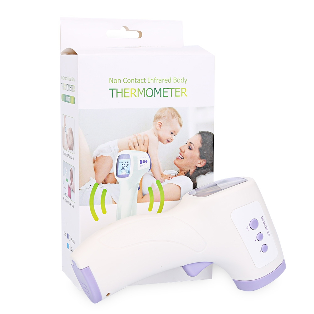 New Muti-fuction Baby/Adult Digital Termomete Infrared Forehead Body Thermometer Gun Non-contact Temperature Measurement Device(China (Mainland))