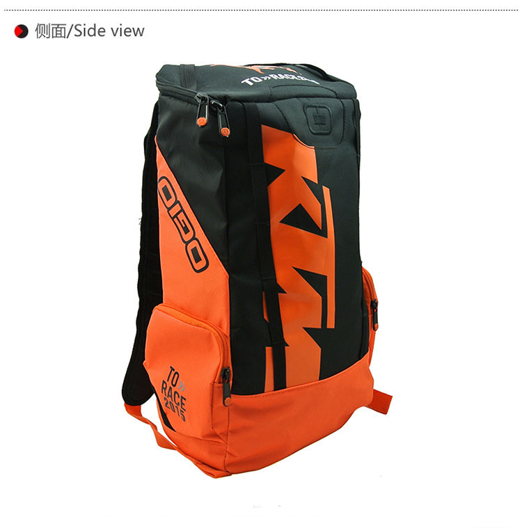 Free shipping to the new 2015 model Ktm motorcycle backpack travel team bags wallet motorcycle outsourcing(China (Mainland))
