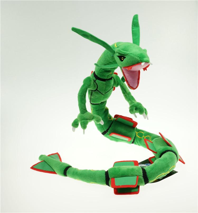 Pokemon Rayquaza Plush Doll Toy Free Style Action Figure Cotton Anime Toy Soft(China (Mainland))