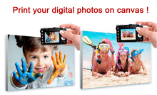 Custom canvas prints photo to art  customization canvas from your photo great gift for your family(China (Mainland))