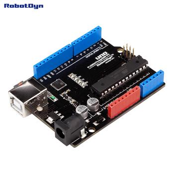 Classic UNO R3 ATmega328P. Compatible for Arduino UNO Rev 3.0 (no USB cable)