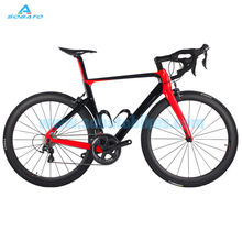 2015~2016 new full carbon Sobato RAA road bicycle carbon bike DIY complete bicycle completo bicicletta road bike FIT DI2