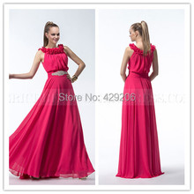 Custom Made Faddish Straight Scoop Applique Beading Flowers Ruched Sleeveless Zipper Up Evening Dresses Prom Party Dresses