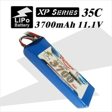 2pcs Redzone lipo battery 35C 3700mAh 11.1V 3s for four-rotor aircraft helicopter airplane