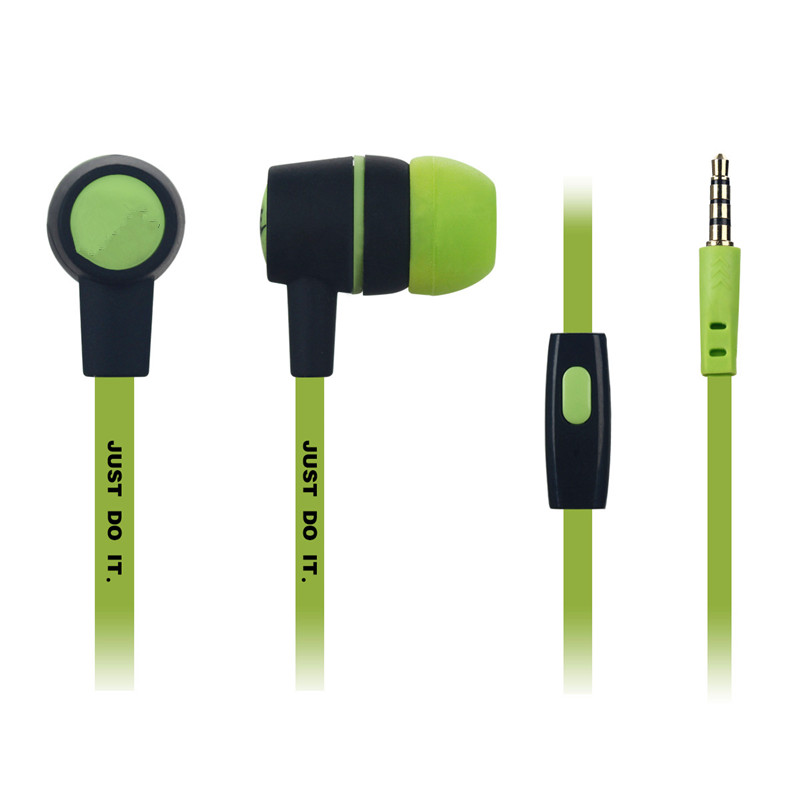 NEW NK-28 Mic earphones Ear Best BASS Earphones for Apple iphone Samsung M2 MP3 MP4 Free shipping(China (Mainland))
