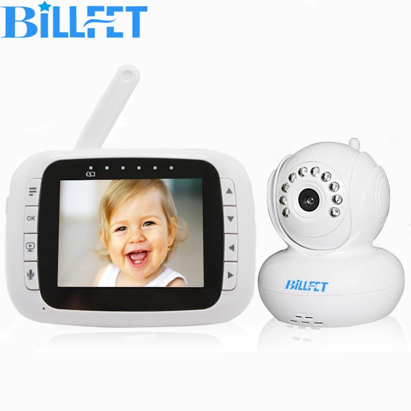 Wireless Camera 3.5 inch LCD Baby Video Audio Monitor Digital Baby Nanny CAM PAN Night Vision Babyphone Two Way Radio Babysitter(China (Mainland))