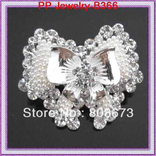 Silver plated beautiful pealr bowknot brooch for wholesale wedding,party.etc<br><br>Aliexpress