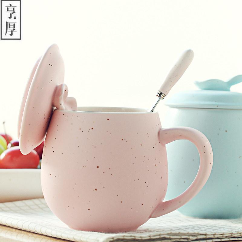 Creative Candy Color Ceramic Mug Coffee Milk Breakfast Cup Cute Porcelain Tea Mugs 380ml Novelty Gifts Tea Cup Mug Wholesale(China (Mainland))