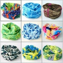 Outdoor Sports Cycling Mask Bike Riding Variety Turban Magic Bicycle Headband Designal Scarf Women Scarves 19 colors SC-0054