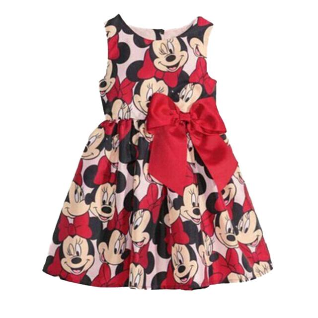 2015 новые девочки платье, Королева платье, Хлопок рода смешанных мультфильм платье детская одежда. Подходит для 12 м до 5 лет