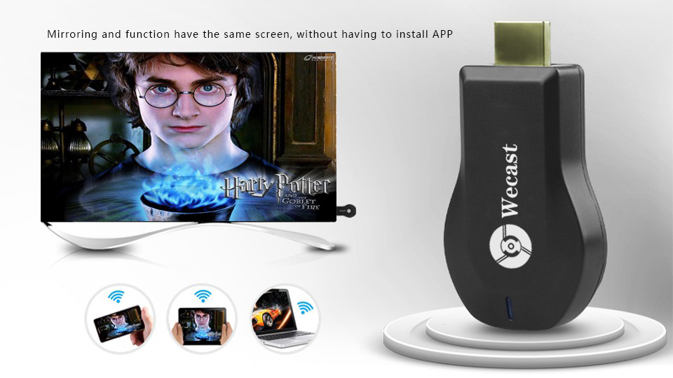 Android TV stick C2 Wecast miracast hdmi dongle google chromecast Support samsung iphone win8.1 DLNA Airplay TV Receiver(China (Mainland))