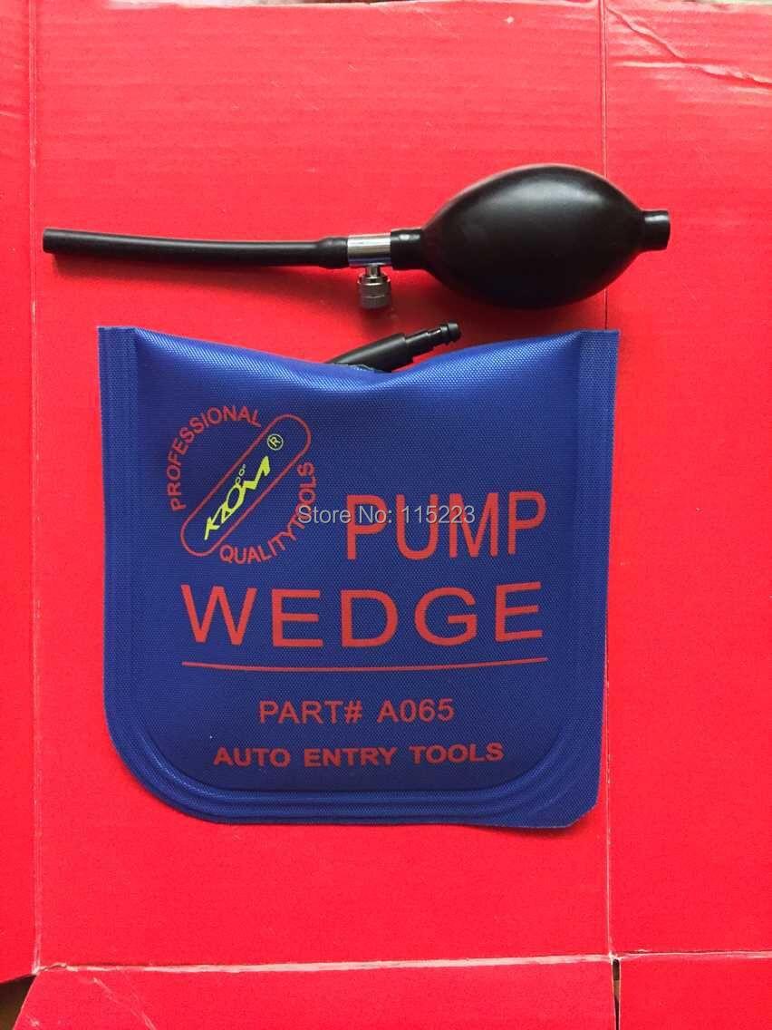 KLOM Air PUMP WEDGE Airbag Auto Locksmith Tools Lock Pick Set Car Picking Gun(China (Mainland))