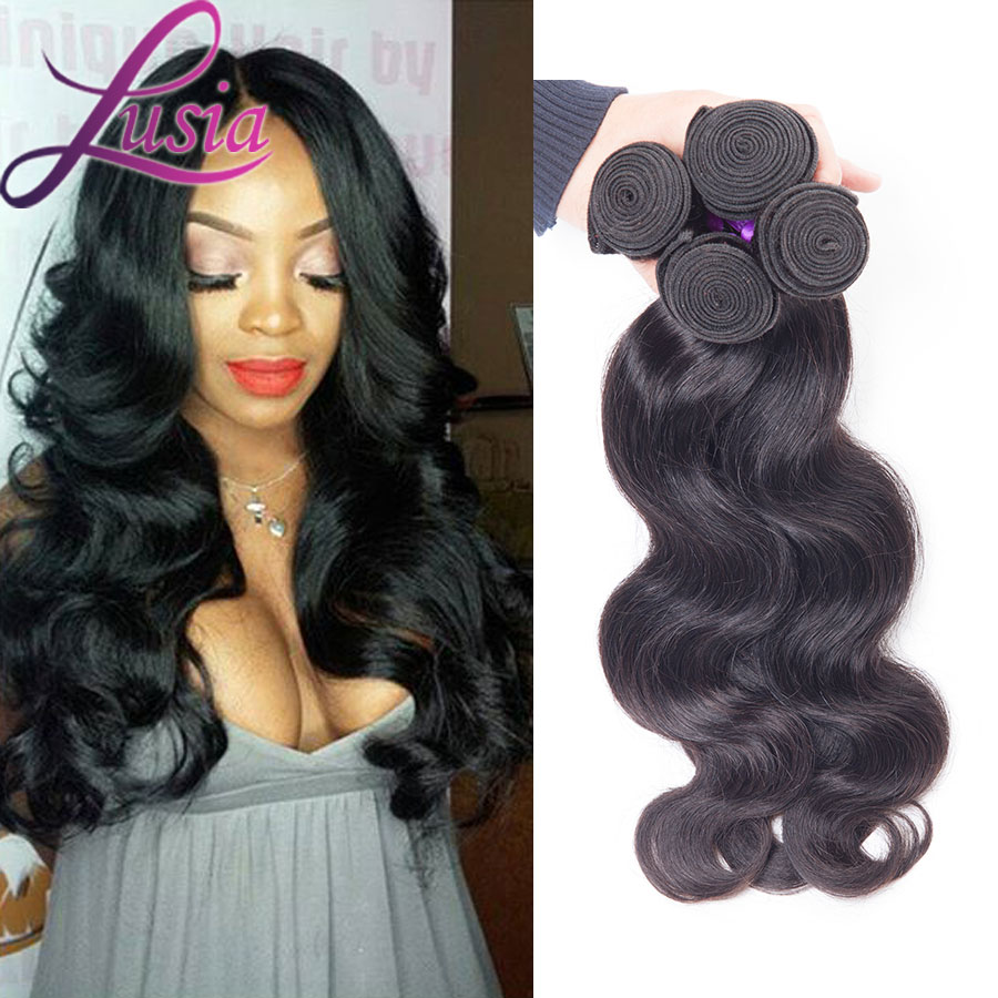 Best Quality 7a Filipino Virgin Hair Body Wave 4 Bundles Unprocessed Filipino Hair Body Wave 8-28 Inches Bele Hair Company