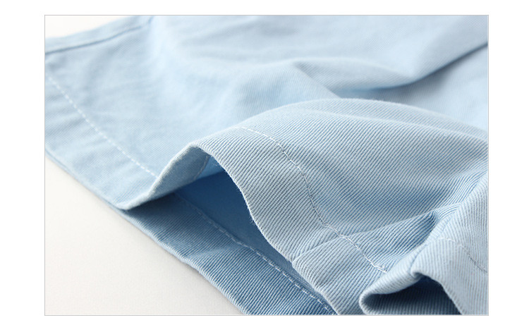 blue kids girl shorts
