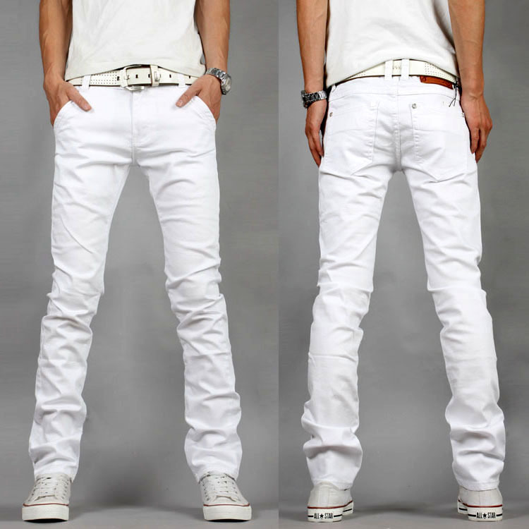 Popular Skinny Jeans Men White-Buy Cheap Skinny Jeans Men White ...