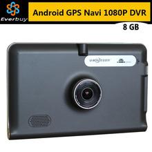 Новый 7 дюймов HD Android GPS навигация автомобильный видеорегистратор камера рекордер россия / беларусь / казахстан европа / сша + канада грузовик автомобиль GPS 8 ГБ
