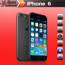 2014 New Original Apple iPhone 6 Cell Phones 4.7'IPS 1GB RAM 16/64/128GB ROM GSM WCDMA LTE Mobile Phone
