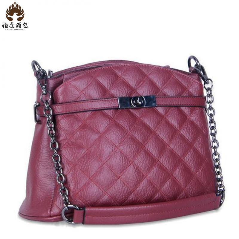 New Women Famous Brands Handbags Women Shoulder Bag Genuine Leather Women Clutch Handbag Branded Bags Ladies Handbag