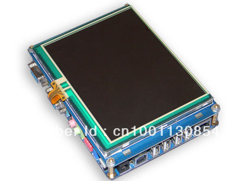 """FL2440 with 5.6"""" LCD embedded ARM9 development board/ kit, TNT Global FREE SHIPPING"""