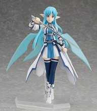 2016 New Anime Sword Art Online 15cm Figma 264 Ausna ALOver Boxed Action Figure Toys