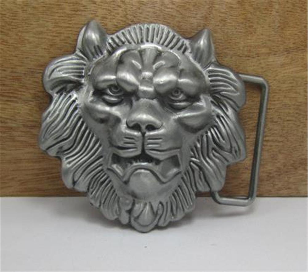 2015 fashion luxury men belt buckles metal animal male lion brand DIY mens designer belt buckles