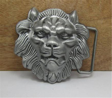 2015 fashion luxury men belt buckles metal animal male lion brand DIY mens designer belt buckles new year gifts free shipping