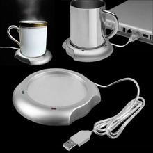 2016 USB Insulation Coaster Heater Heat Insulation  electric multifunction Coffee Cup Mug Mat Pad Brand New(China (Mainland))