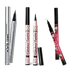 1 X 3 Types Sexy Women Lady Makeup  Black Eyeliner Waterproof Liquid Eye Liner Pencil Pen Make Up Comestics Tools(China (Mainland))