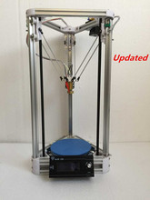 free shipping 100% open source delta 3D printer kit  Newest kossel  printer 3d Reprap rostock printer kit 3d printer