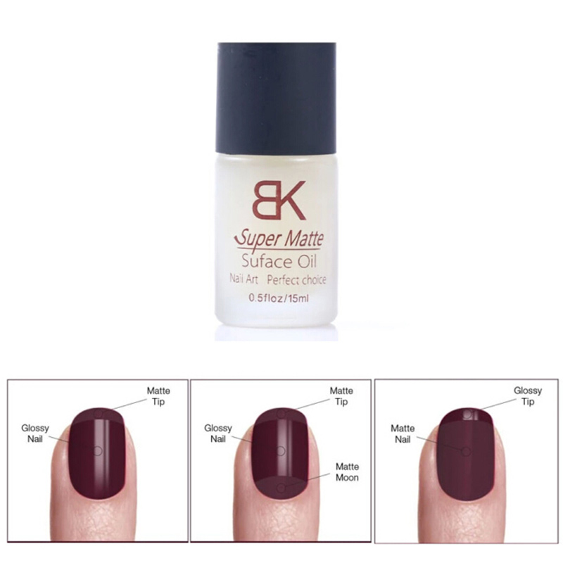 15ML Magic Super Matte Transfiguration Nail Polish Top Coat Frosted Surface Oil<br><br>Aliexpress