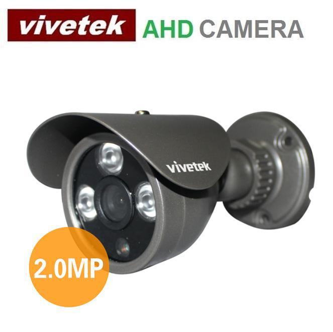 Vivetek 2.0Mega pixel AHD CCTV Camera 1080P Mini waterproof security camera 3pcs array led 30M IR 3.6MM 6MM lens VI-OA200AHD(China (Mainland))