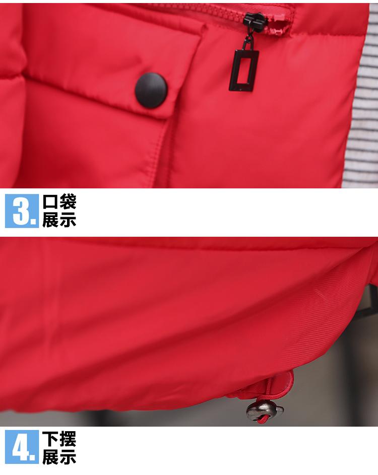 Скидки на Зимняя Куртка Женщин 2016 Новый Тонкий Epaulet Повседневная Мода Пальто Хлопка С Капюшоном Искусственный Шерсти Воротник Плюс Размер Длинная Куртка