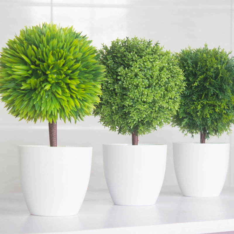 Popular interior decoration plants buy cheap interior for Artificial plants for decoration
