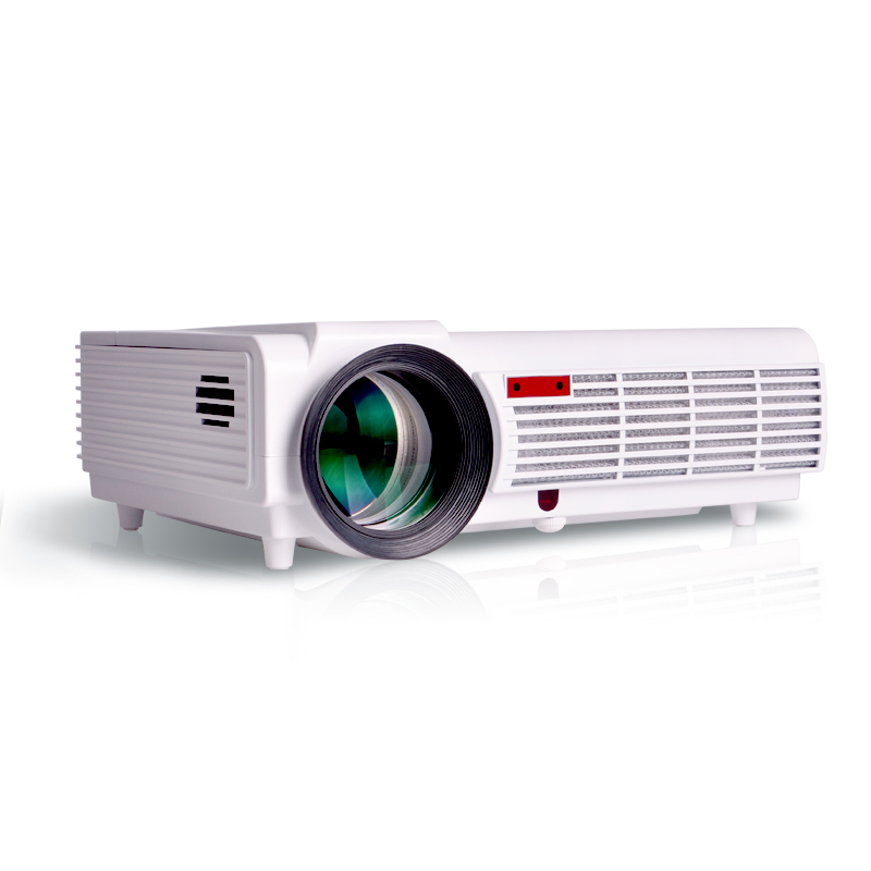 2015 new smart led projector 4500lumens android4 4 wifi for Usb projector reviews