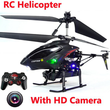 WL S977 3.5 CH RC Helicopter With Camera Metal Remote Control toys helicoptero
