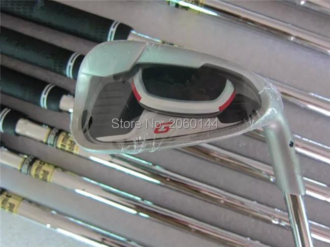 Brand New G20 Iron Set G20 Golf Irons G20 Golf Clubs 3-9SW(9PCS) Regular/Stiff Flex Steel Shaft With Head Cover(China (Mainland))