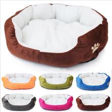 Собака кошка местный дом зима теплая мягкая шерпа хлопка-ватник кашемир домашних животных гнездо собака диван кровать кошачьих туалетов супер теплый питомник для животных