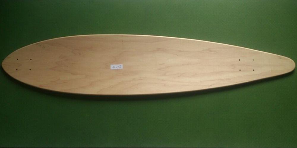 "Wholesale 3pcs OEM Blank Skateboard Deck Maple 46"" Longboard Flat-Plate Deck DIY Patterns Decks(China (Mainland))"