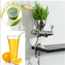 Easy operation kitchen use manual stainless steel health wheatgrass juicer fruit vegetable commercial juicing machine ZF - Zhoufeng Machinery & Technology Co., Ltd. store