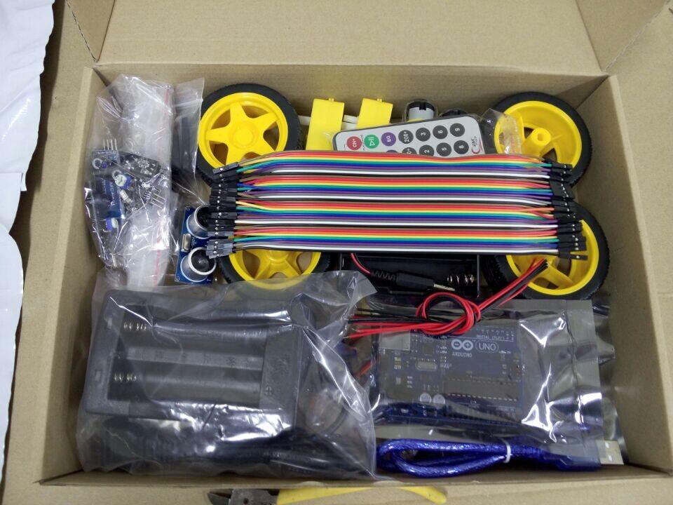 Voiture smart robot kit pour arduino bluetooth ch ssis