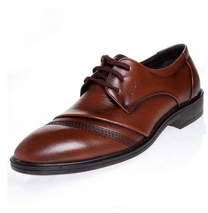Fashion men's shoes business casual wedding party lace-up oxfords141203-3 - Online Shoes Shop store