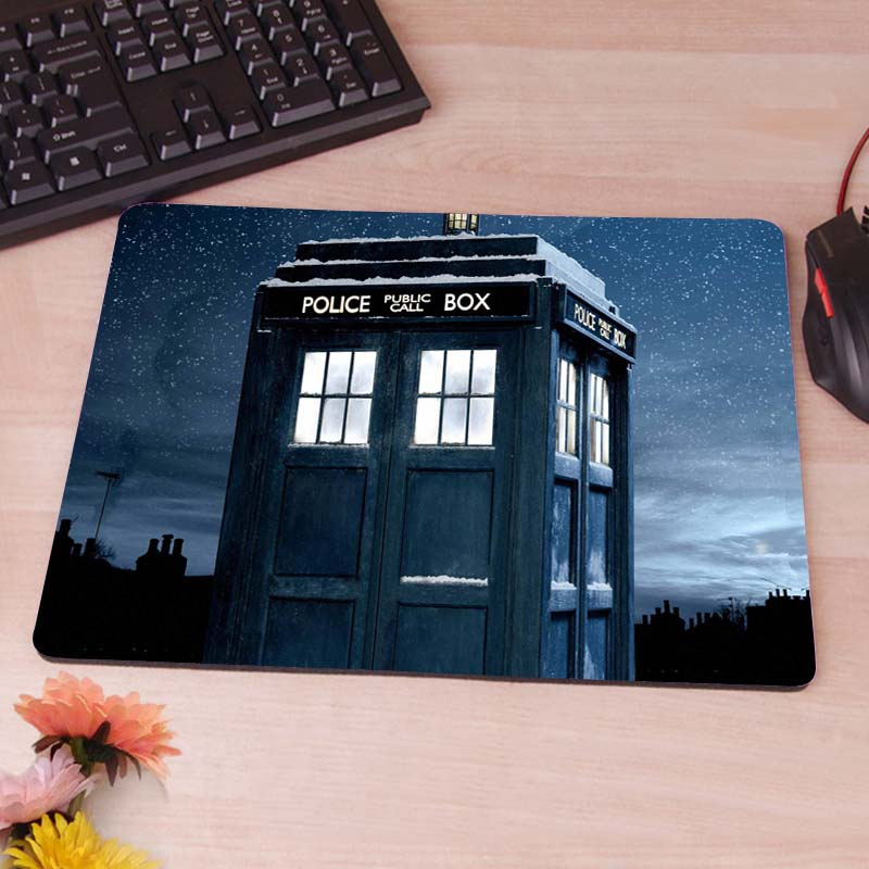 doctor who  box Best Game Custom Mousepads Rubber Pad<br><br>Aliexpress