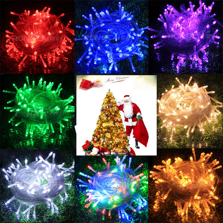 Do Led String Lights Get Hot : Hot Sale 100 LED 10M String Light Christmas/Wedding/Party Decoration LED lamp bulb AC110V 220V ...