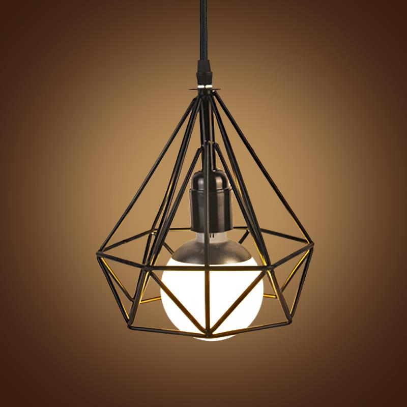 Buy E27 Industrial Retro Pulley Pendant Light Restaurant